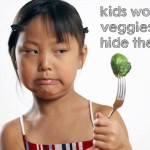 Kids Won't Eat Veggies?  Hide Them!