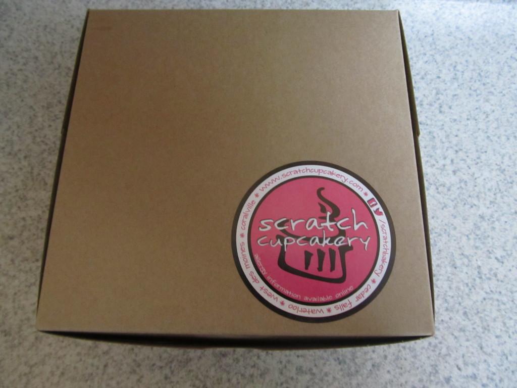 Scratch Cupcake Box