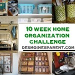 Des Moines Parent 10 Week Home Organization Challenge – Week 3 – Kids Art & Crafts Supplies