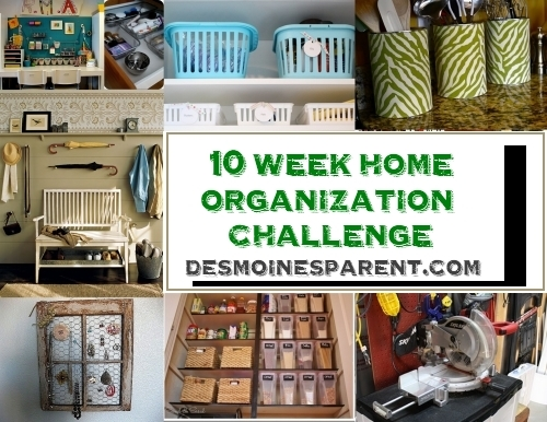Des Moines Parent 10 Week Home Organization Challenge – Week 5 – Kids Books