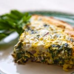 Spinach Frittata Recipe – Great Anytime of the Day!