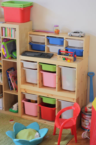 Ikea Trofast Tall Storage Unit ~ Des Moines Parent 10 Week Home Organization Challenge – Week 4
