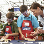 Free Kids Workshops and Clinics at Lowes and Home Depot