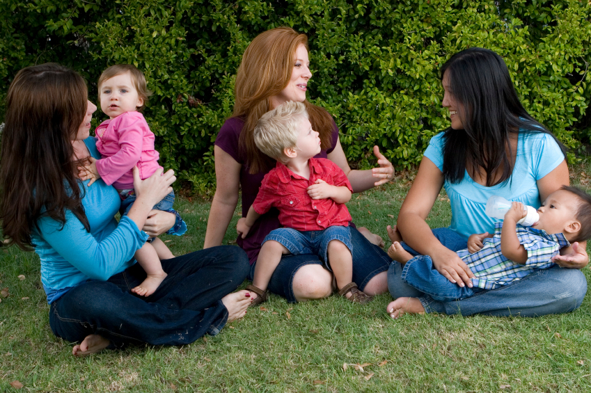 My Advice to First Time Moms: Find a Support Network