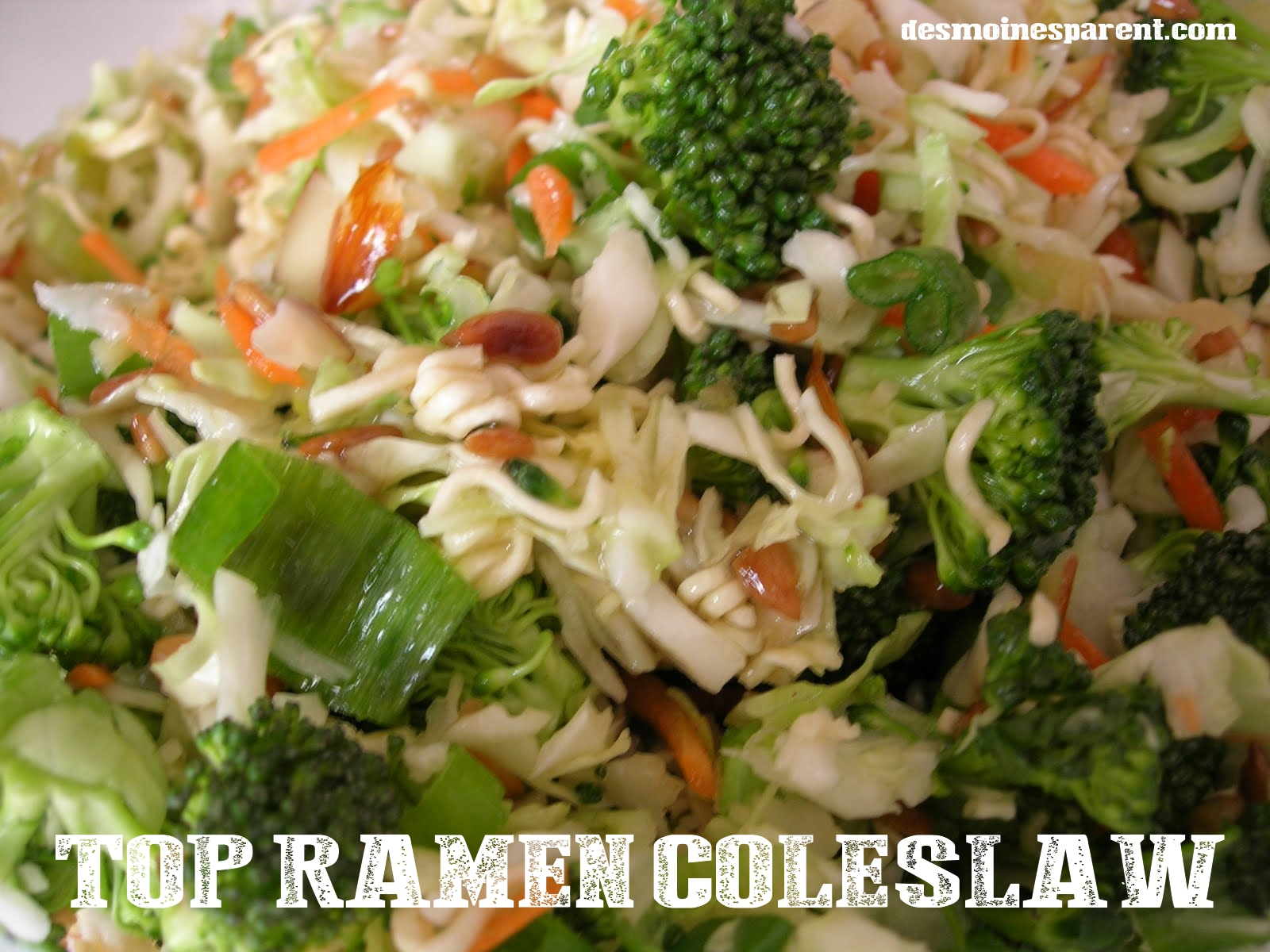 noodle ramen recipes coleslaw Moines Ramen Recipe  Des  Noodle Coleslaw Parent