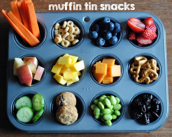 Muffin Tin Snacks: An Easy Way to Get Your Child To Try New Foods