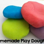 Homemade Play Dough Recipe – So Easy!