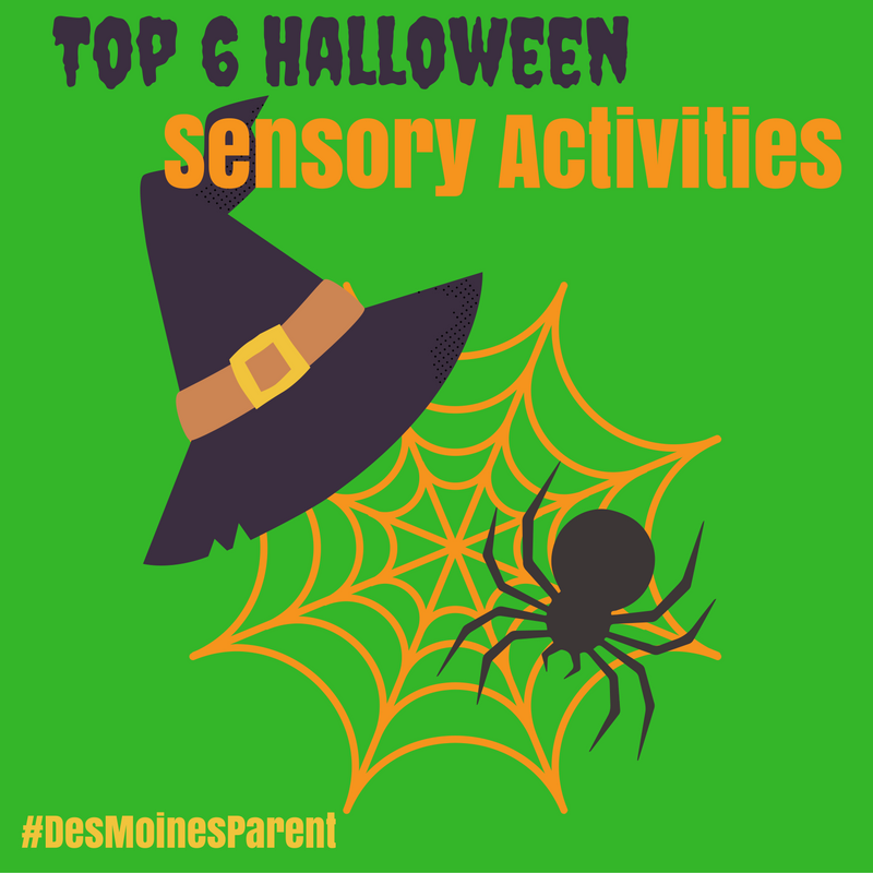 Top 6 Halloween Sensory Activities