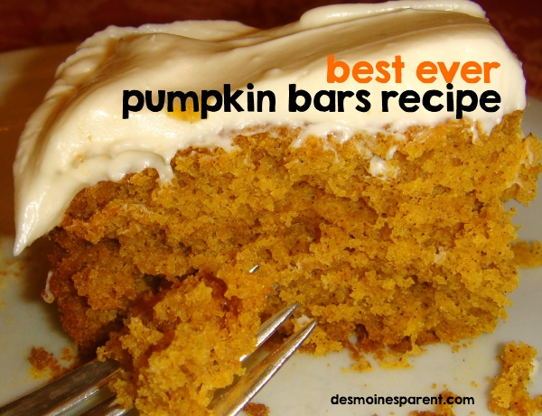 Pumpkin Squares Yellow Cake Mix Cream Cheese