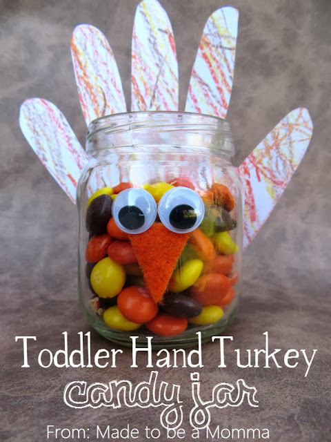 Turkey Candy Jar