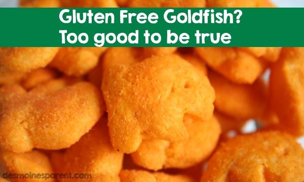 Gluten Free Goldfish – Too Good to be True?