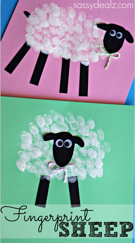 sheep-fingerprint-crafts