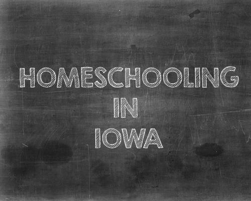 Homeschooling in Iowa