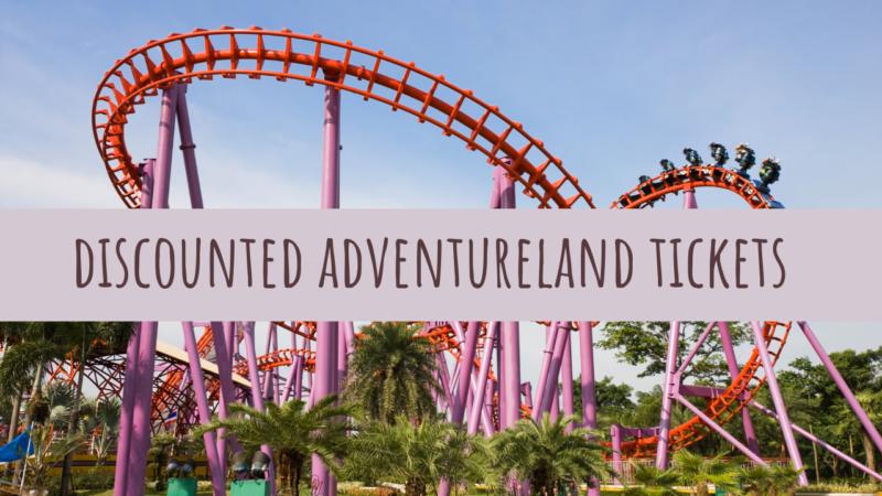 Discounted Adventureland Tickets