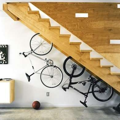 bike stairs storage
