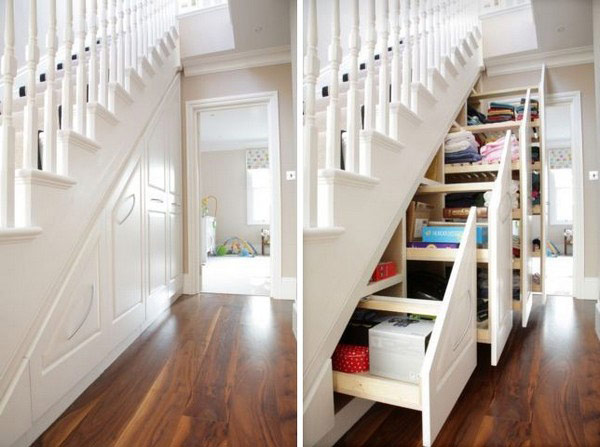 Maximizing Small Spaces – Under the Stairs Storage - Des Moines Parent