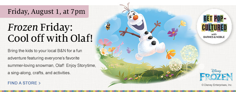 Frozen Friday: Cool off with Olaf