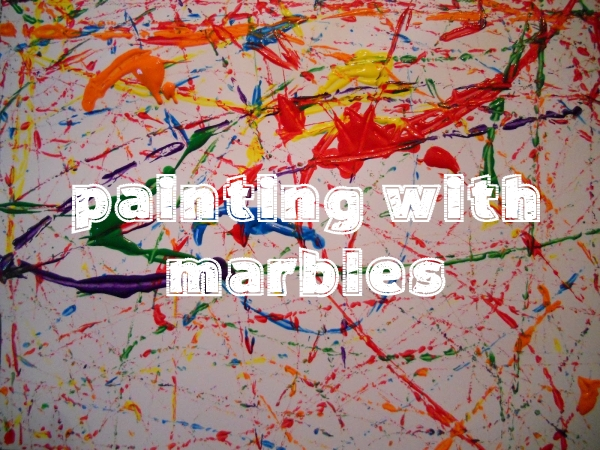 Painting with Marbles