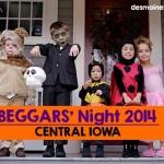 2014 Beggars' Night in Central Iowa