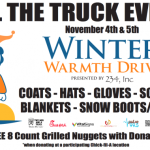 Winter Warmth Drive – Fill The Truck Event