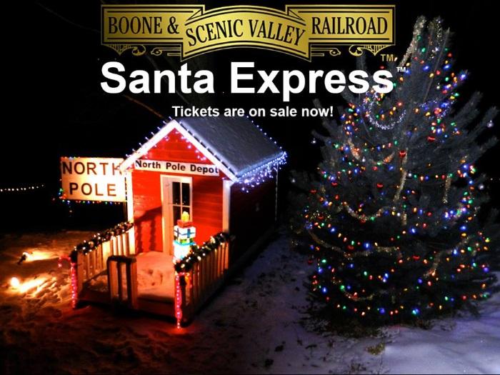 Plan a Trip on the Santa Express