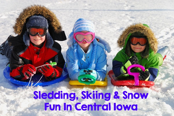 Sledding, Skiing and Snow Fun in Central Iowa