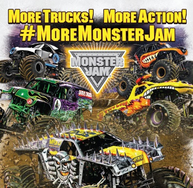 Monster Jam Crashes into Des Moines