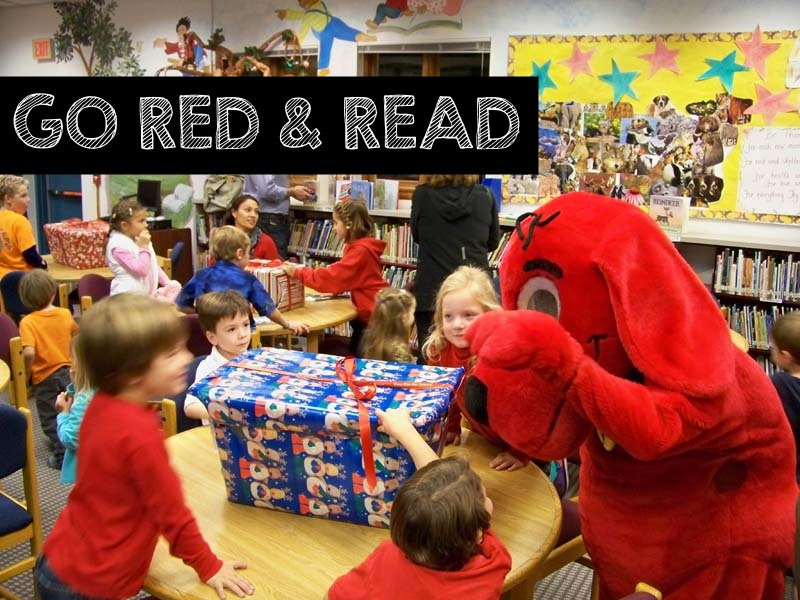Go Red & Read w/ Clifford the Big Red Dog