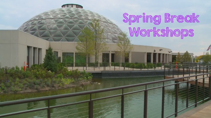 Spring Break Family Workshops @ The Botanical Garden