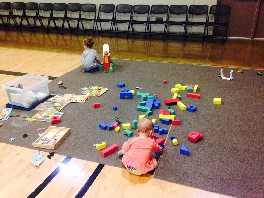 Tot Town at the Valley munity Center in Des Moines Iowa
