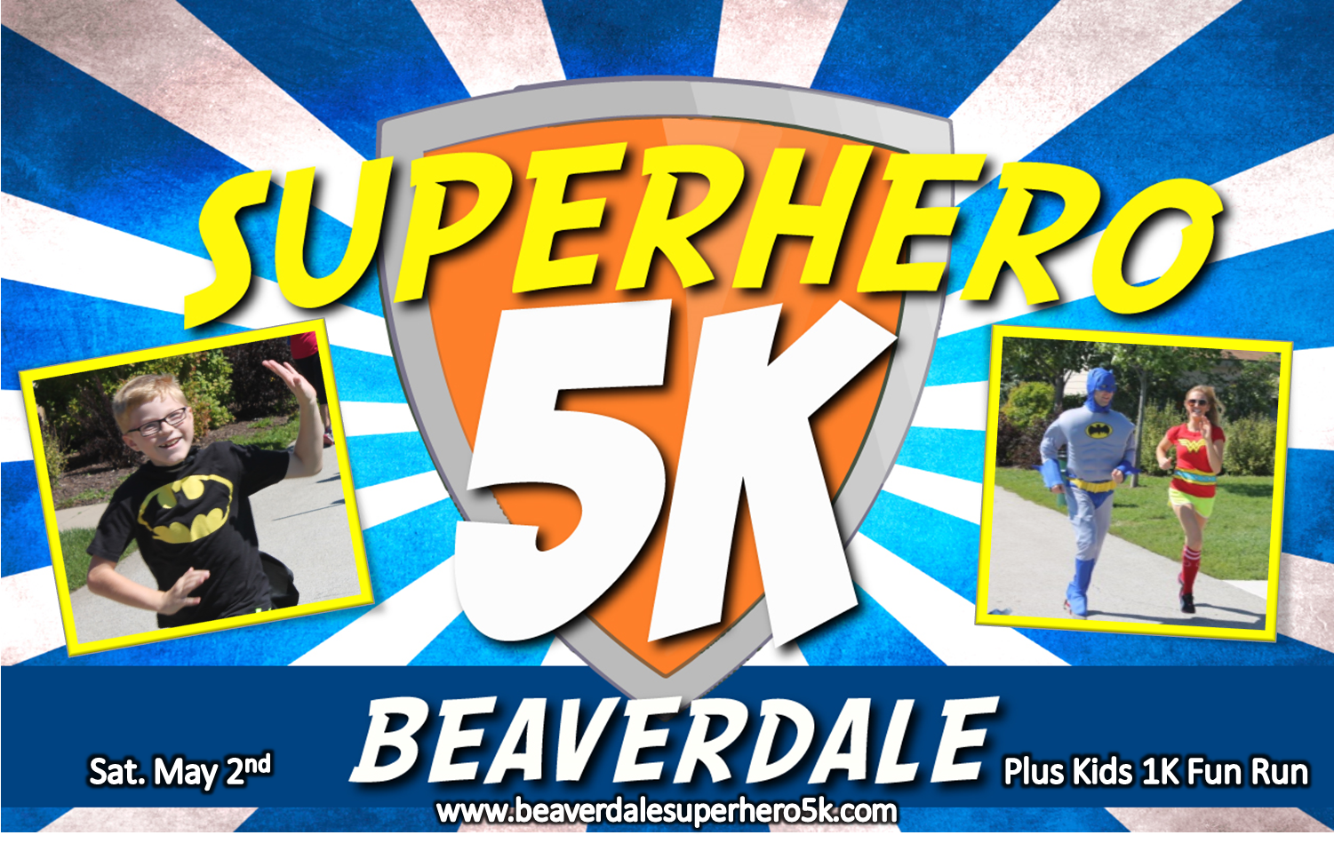Everybody can be a SUPERHERO – The Beaverdale Superhero 5k