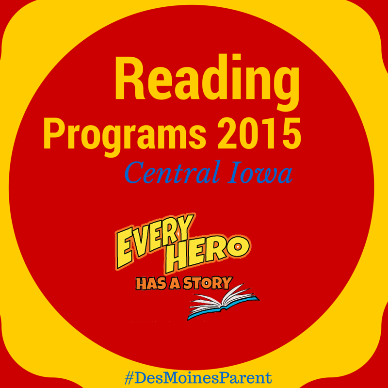 Summer Reading 2015 in Central Iowa