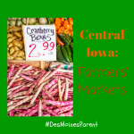 Central Iowa Farmers Markets