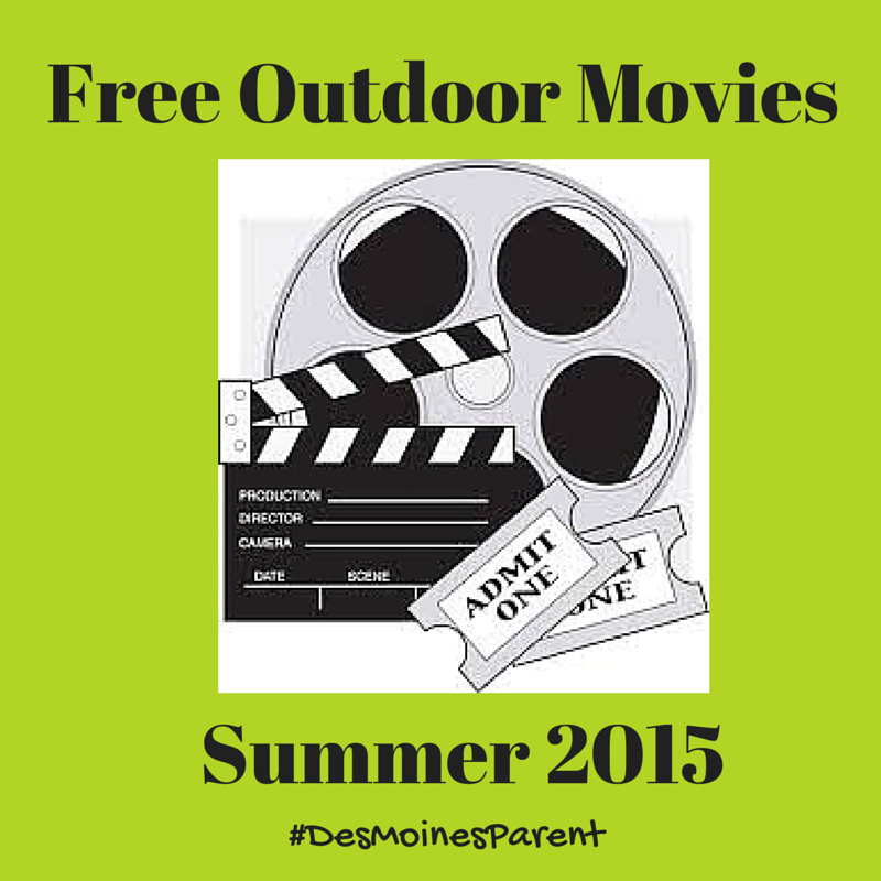 Des Moines Outdoor Movies 2015