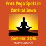 FREE Yoga Spots 2015