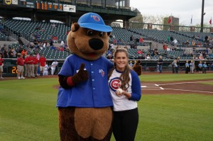 MDLC Kristina Cubs game