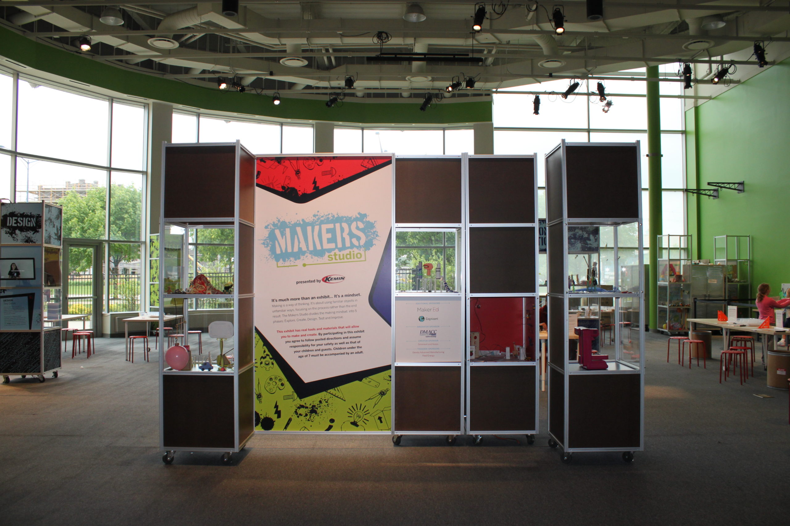 Makers Studio at Science Center of Iowa