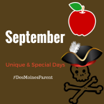 September: Unique & Special Days to Remember!
