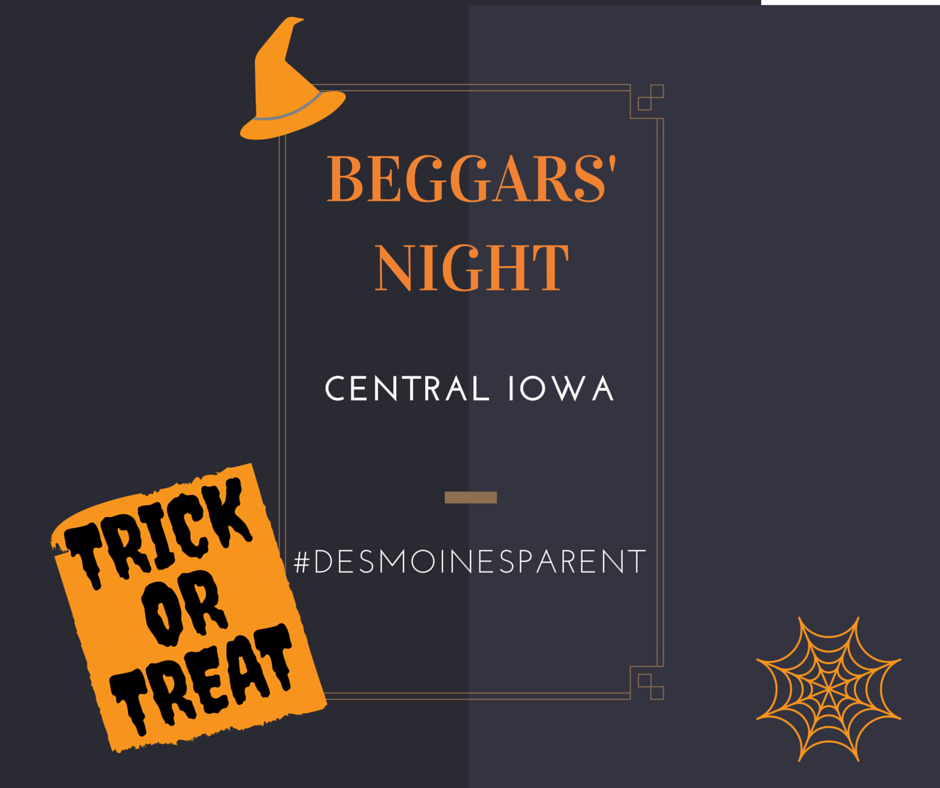 Trick or Treat: Beggars' Night in Central Iowa