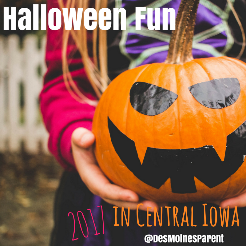 Halloween Events in Central Iowa 2017 - Des Moines Parent | Things ...