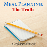 Meal Planning: The Truth