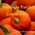 Pumpkins Galore: Pumpkin Patches in Central Iowa