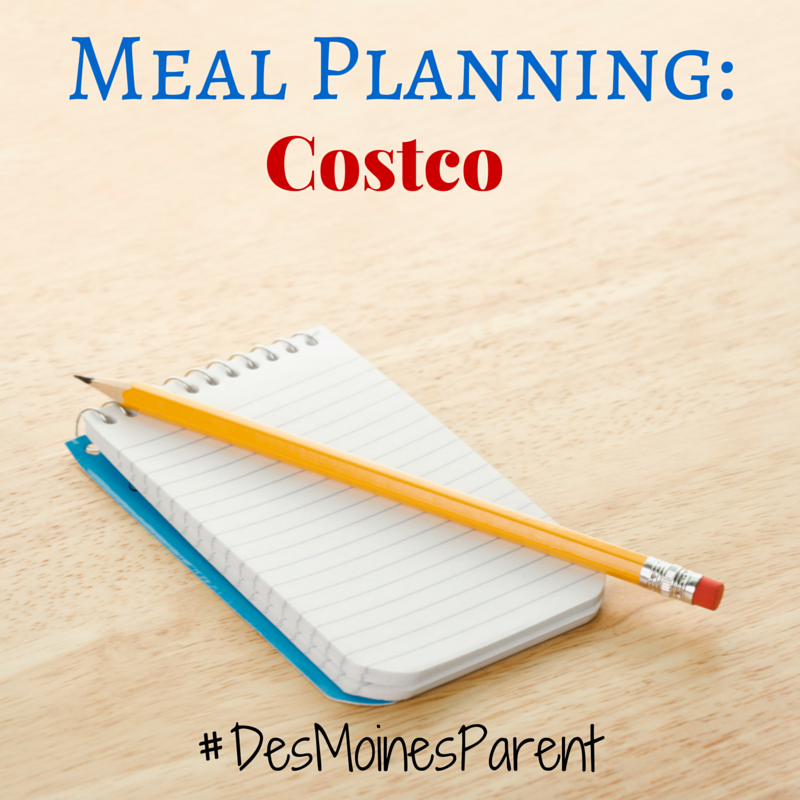 Meal Planning: Costco