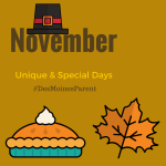 November: Unique & Special Days to Remember!