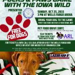 Iowa Wild: Pucks & Paws!