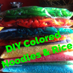DIY Colored Rice & Noodles