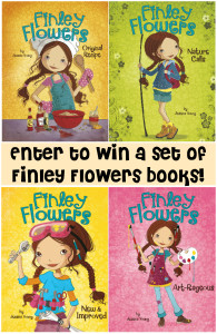 Enter to win a complete set of #FinleyFlowers books. #giveaway #contest #books