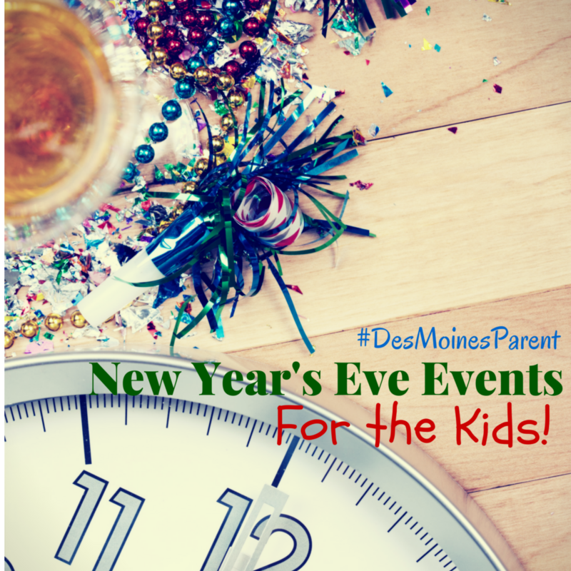 New Year's Eve Fun For Kids!