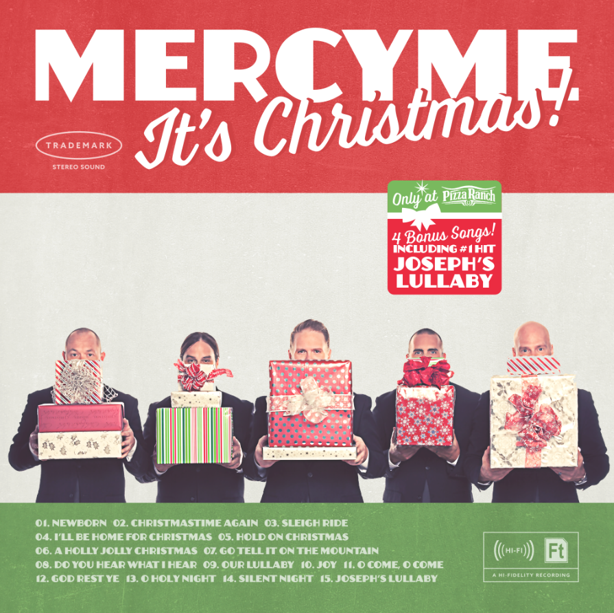 """""""MercyMe It's Christmas"""" Album & Giveaway!"""