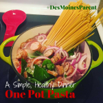 One Pot Pasta: A Simple, Healthy Dinner!
